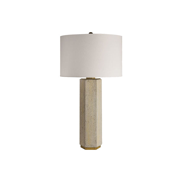 Stone Straight Table Lamp