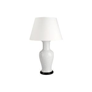 White Crackled Lamp