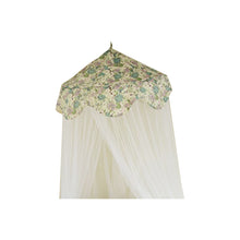 Load image into Gallery viewer, Roses Pistachio Canopy & Mosquito Netting