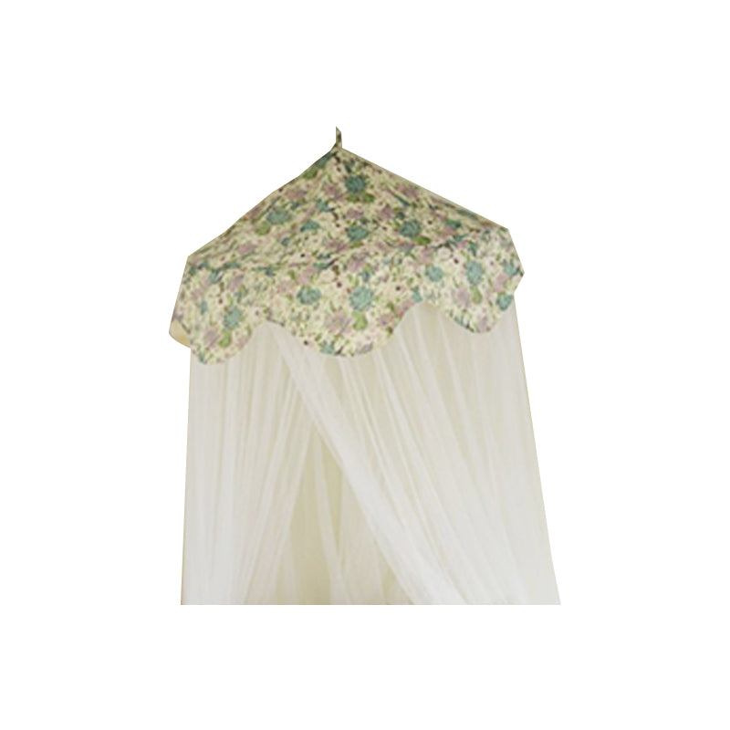 Roses Pistachio Canopy & Mosquito Netting