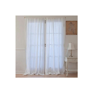 Linen Curtains, Set of 2