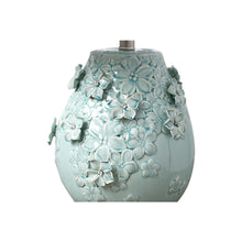 Load image into Gallery viewer, Floral Ceramic Lamp