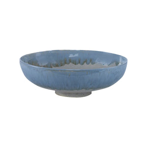 Ceramic Blue Fruit Bowl