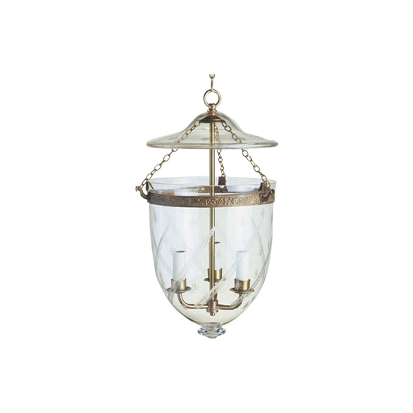 Antiqued Globe Lantern