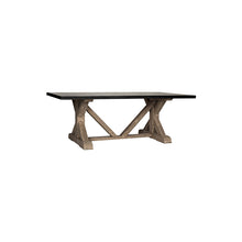 Load image into Gallery viewer, Trestle X Base Dining Table