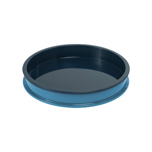 Teal/Horizon Blue Small Circular Tray