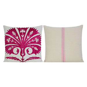 Suzani Embroidered Pillow