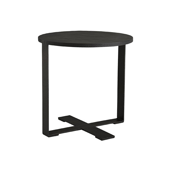 Metal Contemporary Side Table