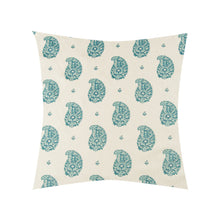 Load image into Gallery viewer, Kirkbean Turquoise Pillow