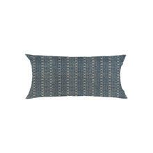 Load image into Gallery viewer, Reverse Indigo Lumbar Pillow