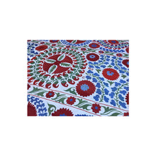 Load image into Gallery viewer, Floral Suzani Tapestry II