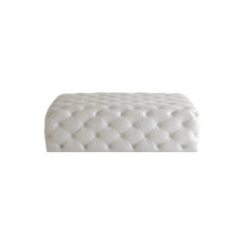 Load image into Gallery viewer, Tufted Rectangle Ottoman