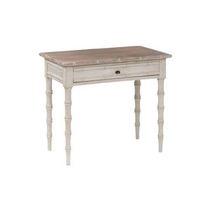 White Washed Side Table