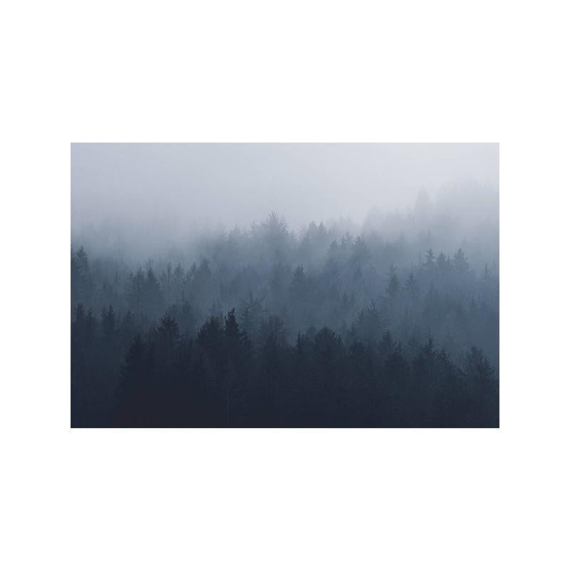 Blurred Forest Print