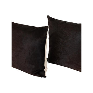 Cowhide Pillows, Set of 2