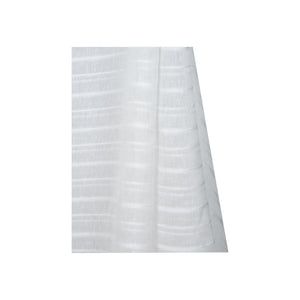 Louis Stripe White Fabric