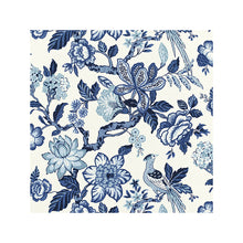 Load image into Gallery viewer, Huntington Gardens Bleu Marine Fabric