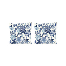 Load image into Gallery viewer, Huntington Gardens Bleu MarinePillows, Set of 2