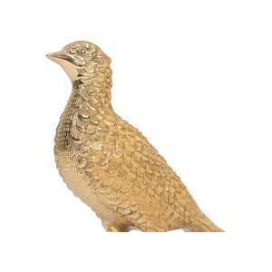 Brass Bird Sculpture