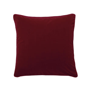 Rouge Velvet Throw Pillow