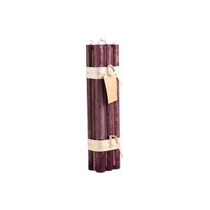 Hand Crafted Taper Candles Wine
