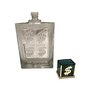 Andy Warhol Factice Dollar Perfume Bottle