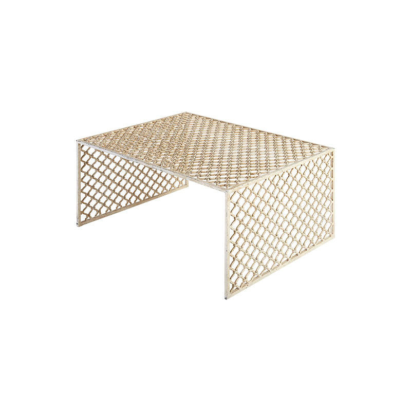 Lattice Weave Coffee Table