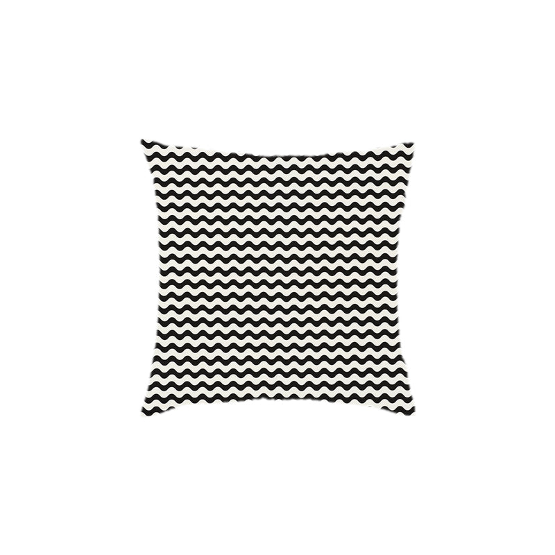 Custom Zig Zag Outdoor Pillows - Set of 2