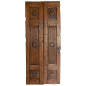 Vintage Spanish Colonial Pair of Doors
