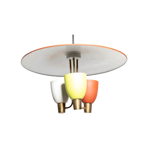 Three Light Ceiling Fixture