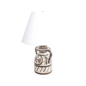 Graphic Textured Rosenthal Netter Table Lamp