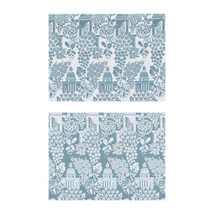 Eastern Eden Fabric - Cornflower