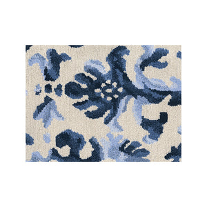 Regal Row Tibetan Knot Rug - Wedgewood