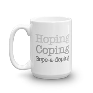 Rope-a-doping 15 oz Mug