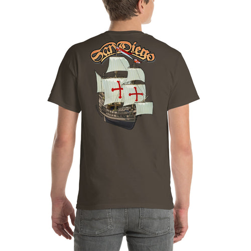 San Diego Sailing Ship Short-Sleeve T-Shirt