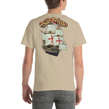 Load image into Gallery viewer, San Diego Sailing Ship Short-Sleeve T-Shirt