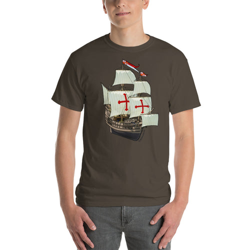 San Salvador Ship Short-Sleeve T-Shirt
