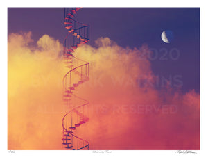 Stairway Two Signed and Numbered Giclée Print