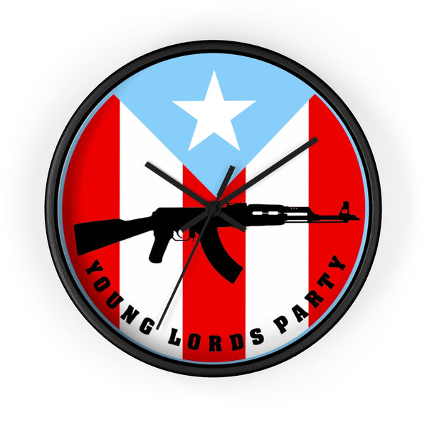 """Young Lords"" Know the Time - Wall Clock"