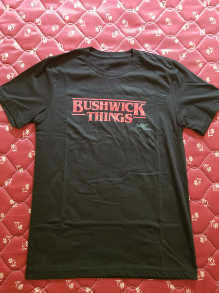 Large - Black T-shirt - Bushwick Things