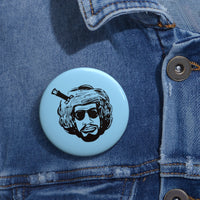 """Afro Bobbito"" Button"