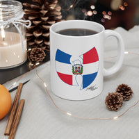 """Wu-La Republica Dominicana"" Ceramic Mug 11oz"