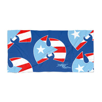 """Wu-Manolo"" Beach Towel"