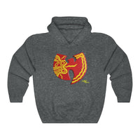 """Wu-Boriken"" Unisex Heavy Blend™ Hooded Sweatshirt"