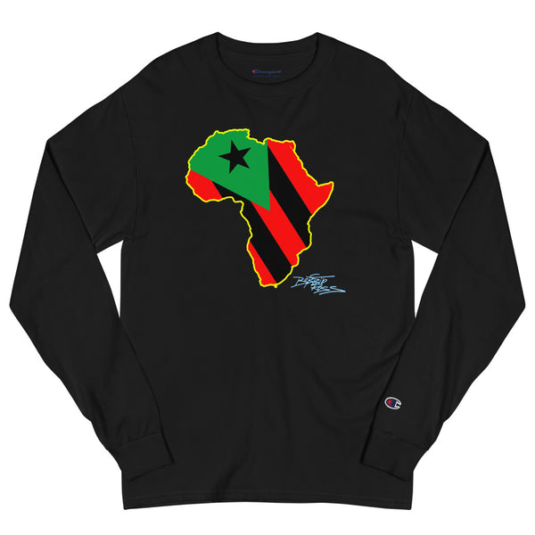 """Pan Africano 2"" Men's Champion Long Sleeve Shirt"