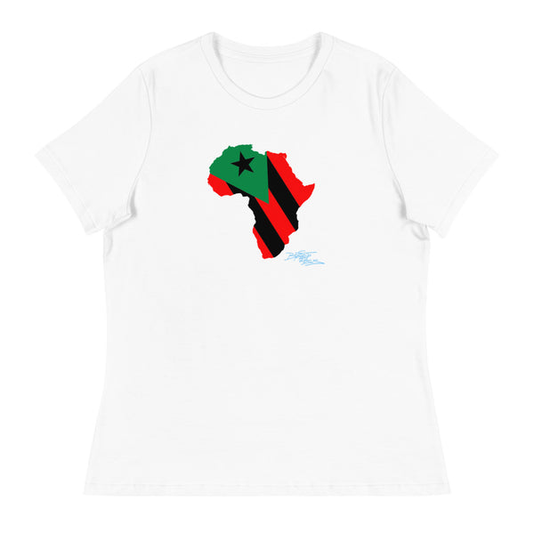 """Pan Africana"" Women's Relaxed T-Shirt"