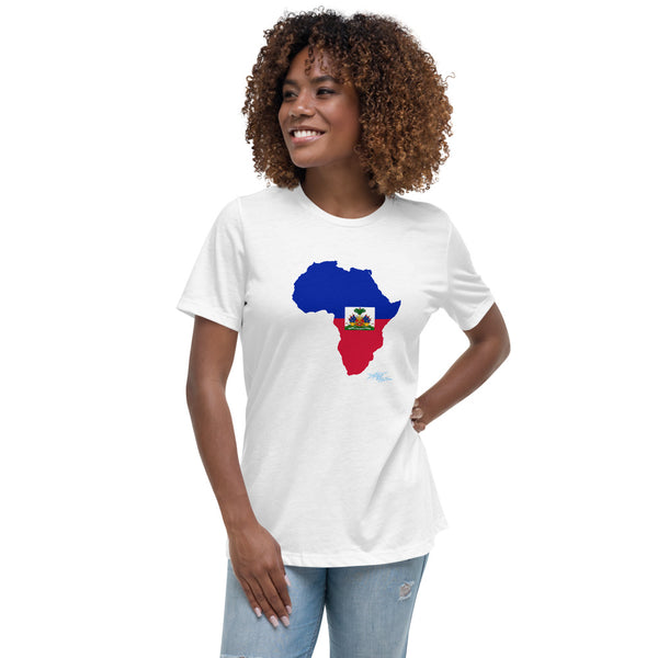 """Haiti/Africano"" Women's Relaxed T-Shirt"