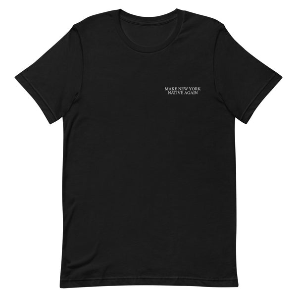 """M.NY.N.A"" Embroidered Short-Sleeve Unisex T-Shirt"
