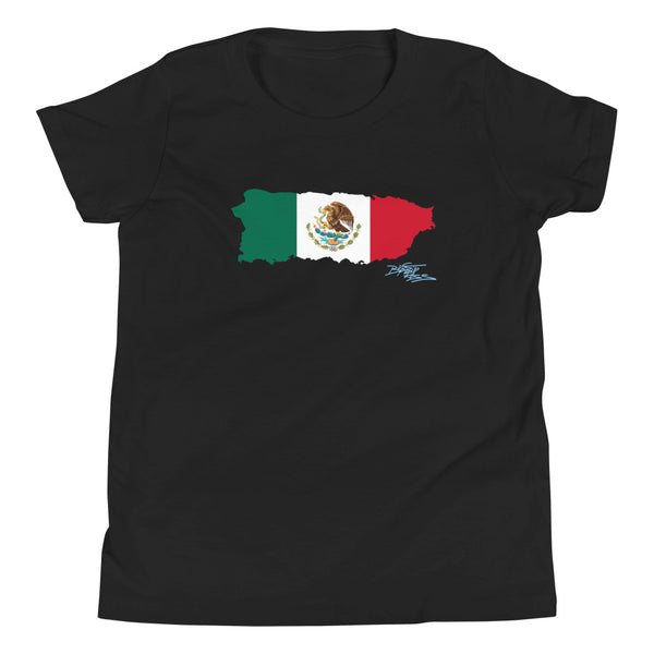 """PR Mexicano 1"" Youth Short Sleeve T-Shirt"