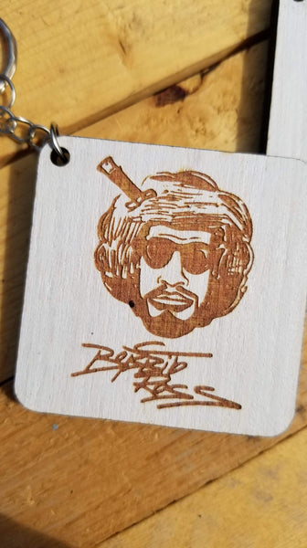 """Bobbito Ross"" Key Chains"